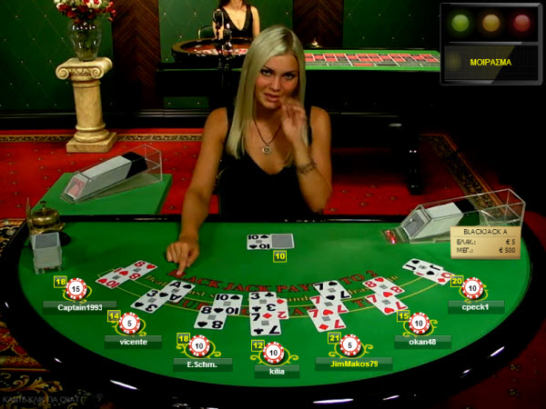blackjack tafel live